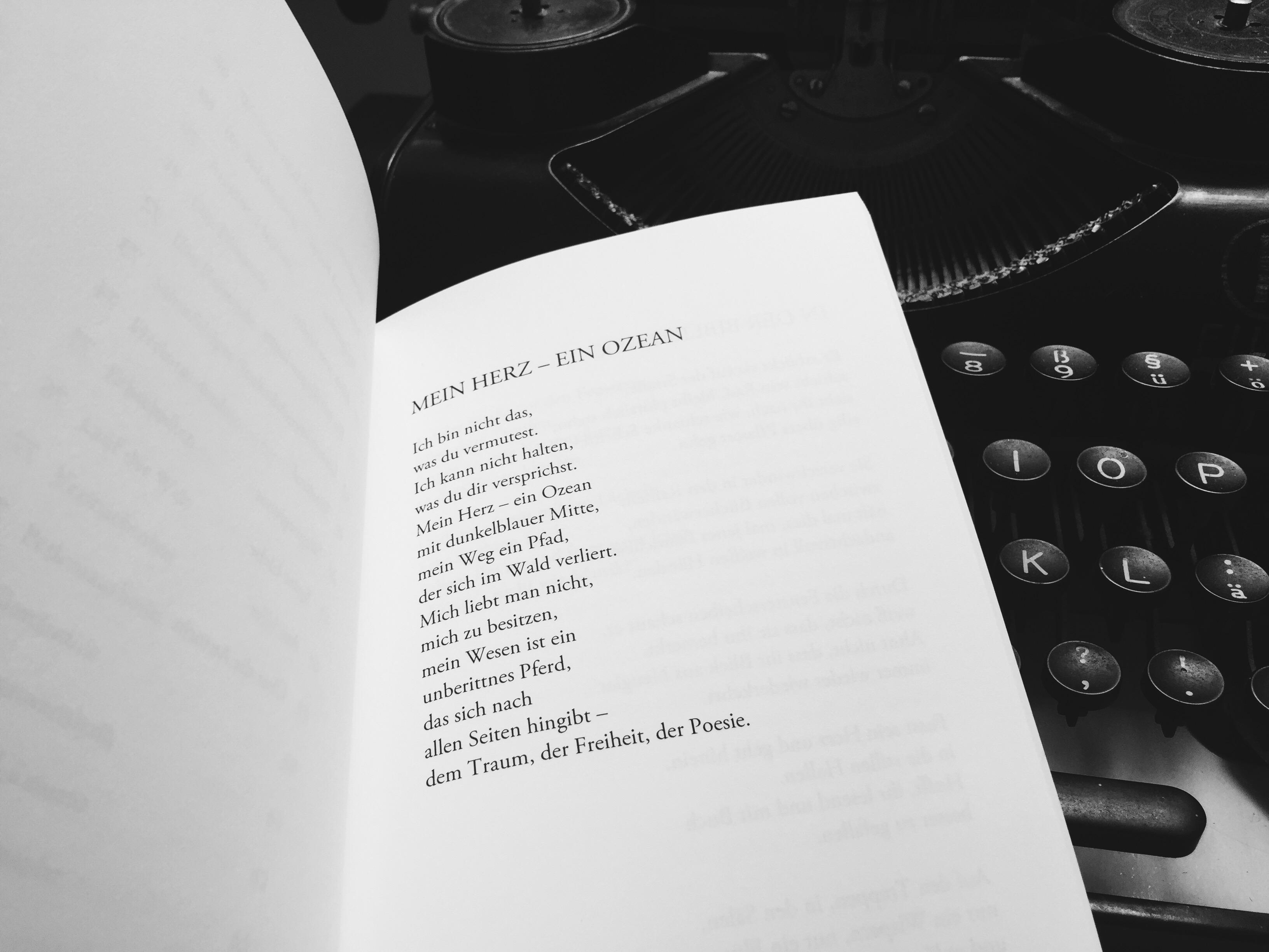 Gedichtband Poetische Zeiten