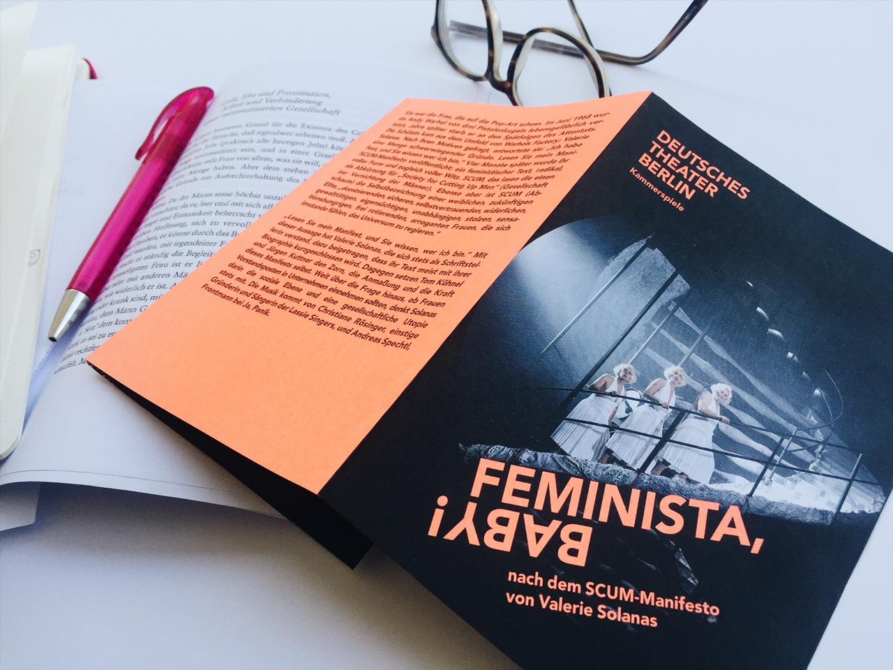 """""""Feminista, Baby!"""" – Deutsches Theater Berlin"""