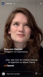 Kea von garnier ZDF Heute