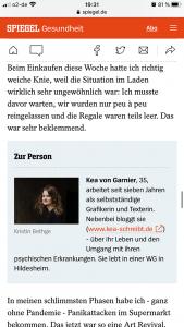 Kea von Garnier Spiegel